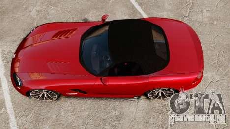 Dodge Viper SRT-10 2003 для GTA 4 вид справа