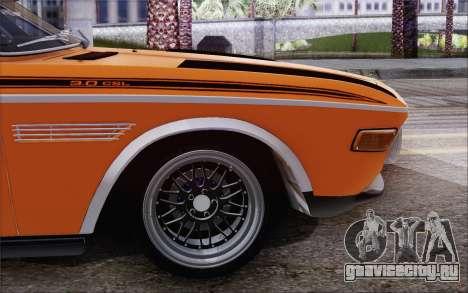 BMW 30 CSL 1971 для GTA San Andreas вид слева