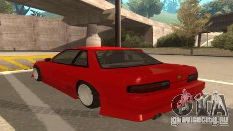 Nissan Onevia для GTA San Andreas вид сзади