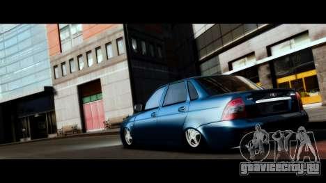 ВАЗ 2170 Lada Priora для GTA 4 вид сбоку