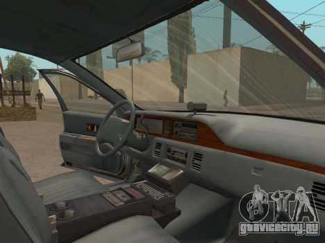 Chevrolet Caprice SFPD 1991 для GTA San Andreas вид справа