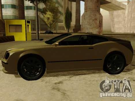 Cognocsenti Cabrio из GTA 5 для GTA San Andreas вид сзади