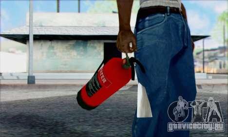 Новый огнетушитель 2 для GTA San Andreas второй скриншот