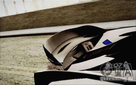 McLaren P1 2014 v2 для GTA San Andreas вид сбоку
