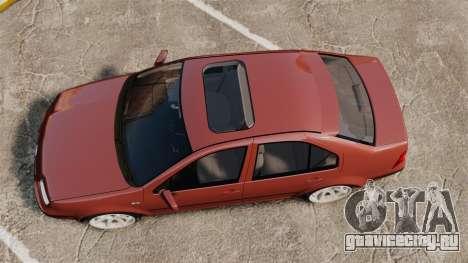Volkswagen Bora VR6 2003 для GTA 4 вид справа