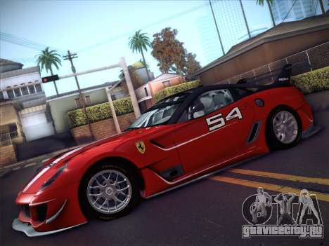 Ferrari 599XX 2012 для GTA San Andreas вид справа