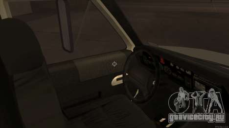 Ambulance HD from GTA 3 для GTA San Andreas вид сзади