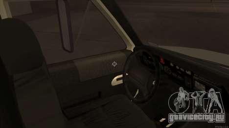 Ambulance HD from GTA 3 для GTA San Andreas вид сзади