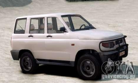УАЗ 3160 для GTA 4 вид слева