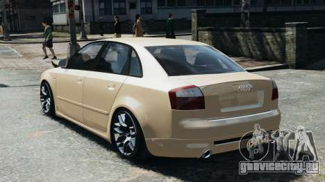 Audi S4 2004 для GTA 4 вид слева