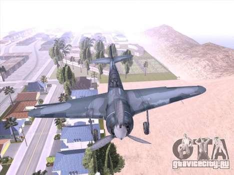 ЛА-5 для GTA San Andreas вид слева