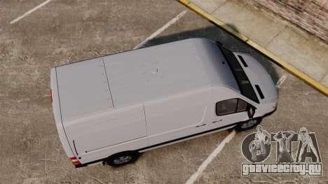 Mercedes-Benz Sprinter 2500 2011 v1.4 для GTA 4 вид справа