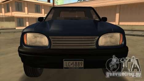 Bobcat HD from GTA 3 для GTA San Andreas вид слева