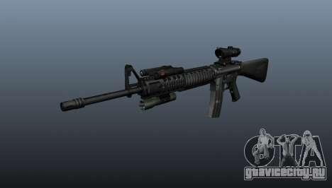 Штурмовая винтовка M16A4 ACOG для GTA 4