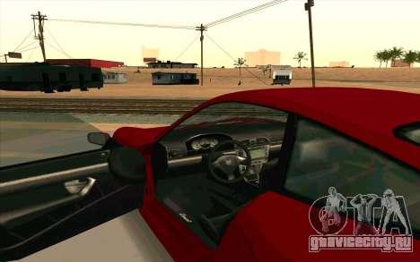 Comet GTA V для GTA San Andreas вид сзади слева