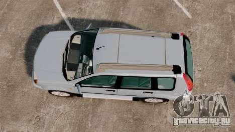 Nissan X-Trail для GTA 4 вид справа
