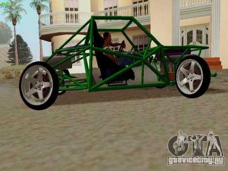 Nocturnal Motorsports Coyote для GTA San Andreas вид слева