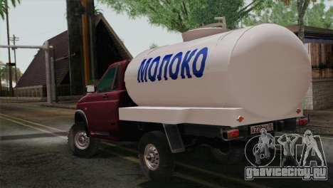 УАЗ 2360 Молоко для GTA San Andreas вид слева
