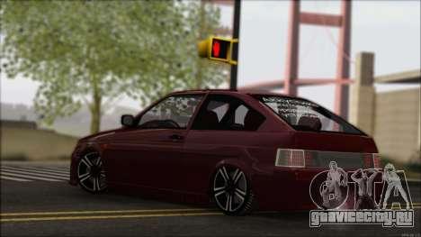ВАЗ 2112 Купе-Спорт для GTA San Andreas вид изнутри