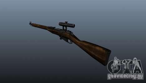 Винтовка Мосина для GTA 4 второй скриншот