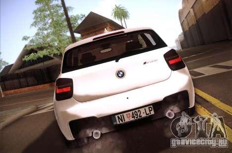 BMW M135i для GTA San Andreas вид справа