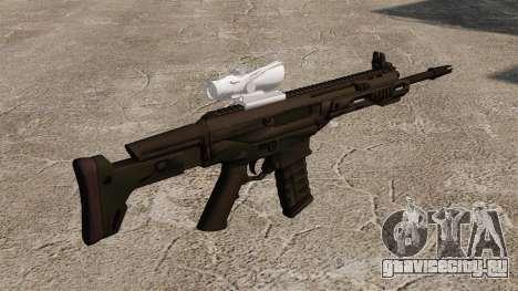 Автомат Remington ACR Acog для GTA 4 второй скриншот