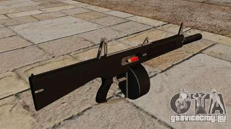 Автоматическое ружьё AA-12 с глушителем для GTA 4 второй скриншот