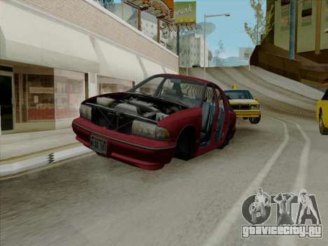 Chevrolet Caprice 1991 для GTA San Andreas салон