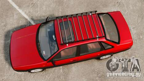 Volkswagen Passat B3 1995 для GTA 4 вид справа