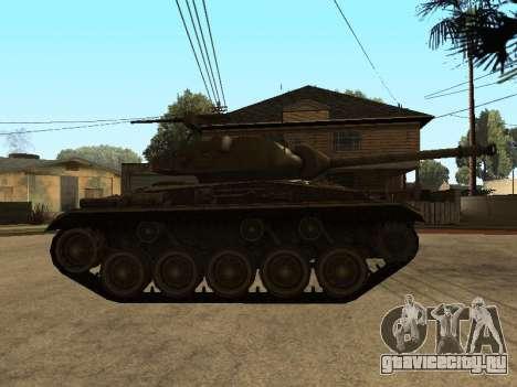 M24-Chaffee для GTA San Andreas вид сзади слева
