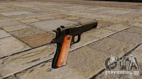 Пистолет Colt M1911 Black Edition для GTA 4 второй скриншот