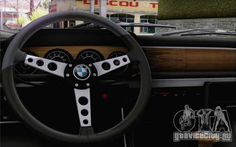 BMW 30 CSL 1971 для GTA San Andreas вид сзади