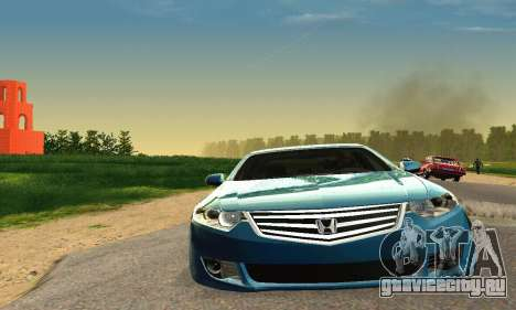 Honda Accord Tuning для GTA San Andreas вид справа