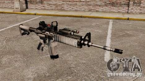 Автомат M4 Red Dop v1 для GTA 4
