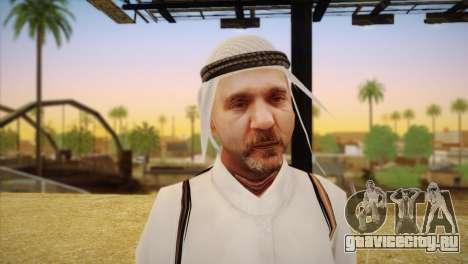 Арабский шейх для GTA San Andreas третий скриншот