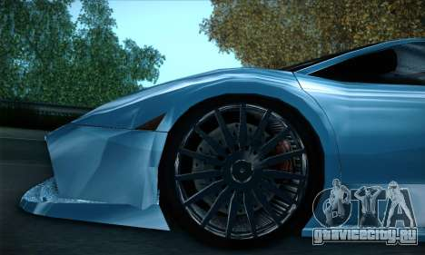 Lamborghini Murcielago GT Coloured для GTA San Andreas салон