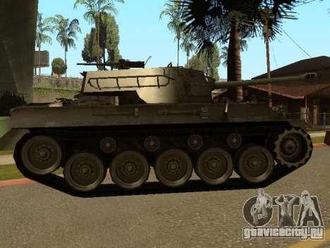 M18-Hellcat для GTA San Andreas вид сзади слева