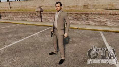 Майкл де Санта для GTA 4 шестой скриншот