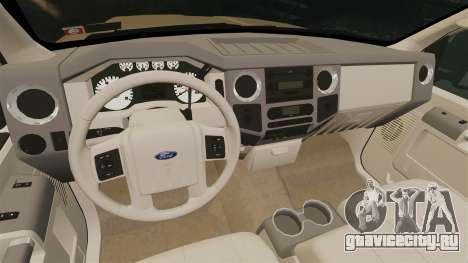 Ford F-350 Pitbull для GTA 4 вид изнутри