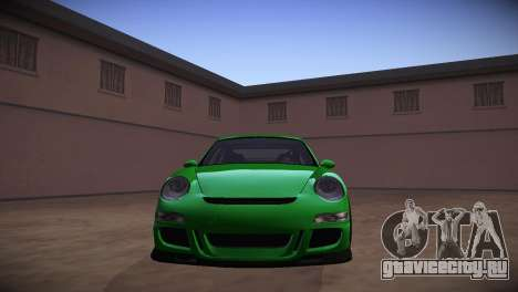 Porsche 911 TT Ultimate Edition для GTA San Andreas вид сзади