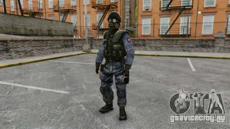 Английский спецназовец SAS для GTA 4