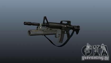 Автоматический карабин M4A1 v1 для GTA 4