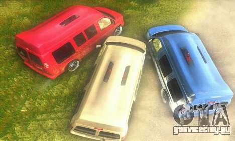 GMC Savana для GTA San Andreas вид справа