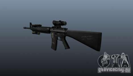 Штурмовая винтовка M16A4 ACOG для GTA 4 второй скриншот