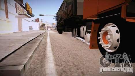 Scania LK 141 6x2 для GTA San Andreas вид справа
