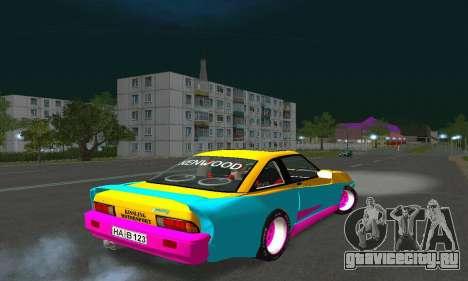 Opel Manta Mattig Extreme для GTA San Andreas вид сзади слева