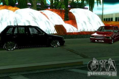 Fiat Uno 2010 Clase 4 для GTA San Andreas вид слева