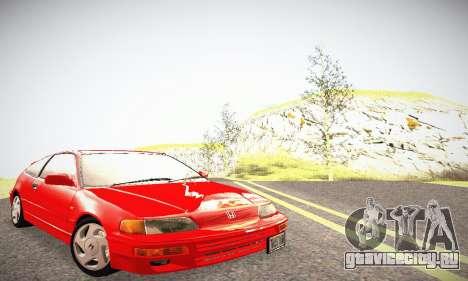 Honda CRX - Stock для GTA San Andreas