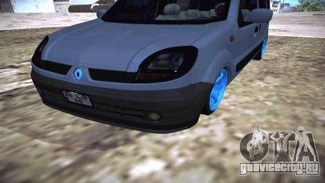 Renault Kangoo 2005 v1.0 TMC для GTA San Andreas вид справа