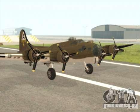 B-17G для GTA San Andreas